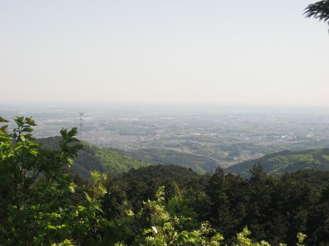 スカリ山からの見晴し