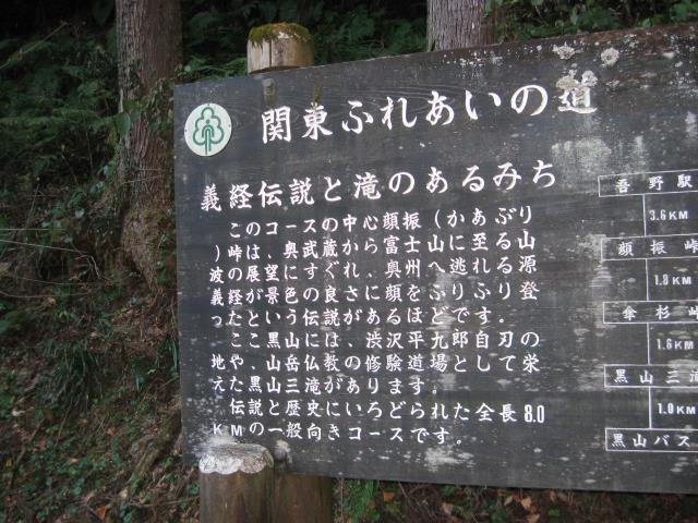 関東ふれあいの道の解説板