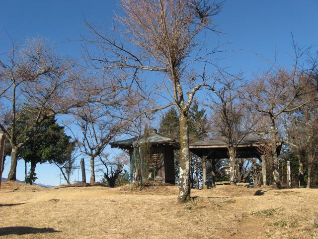 関八州見晴台の山頂