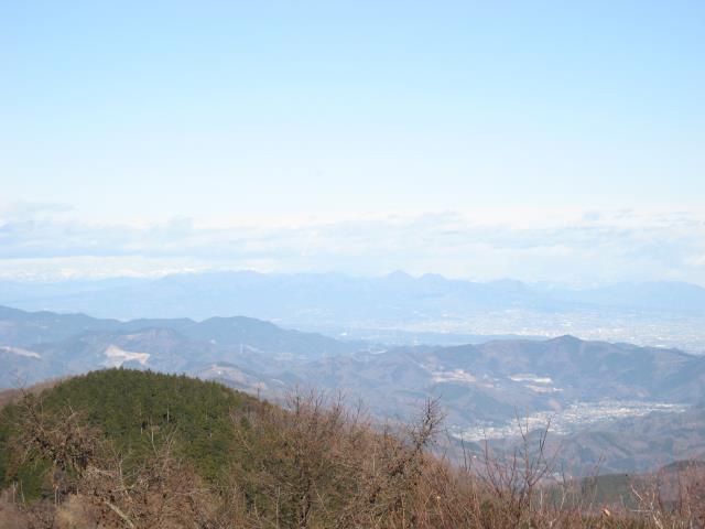 群馬県の榛名山の眺め