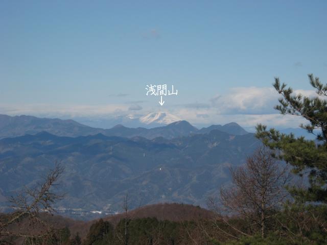 群馬県の浅間山